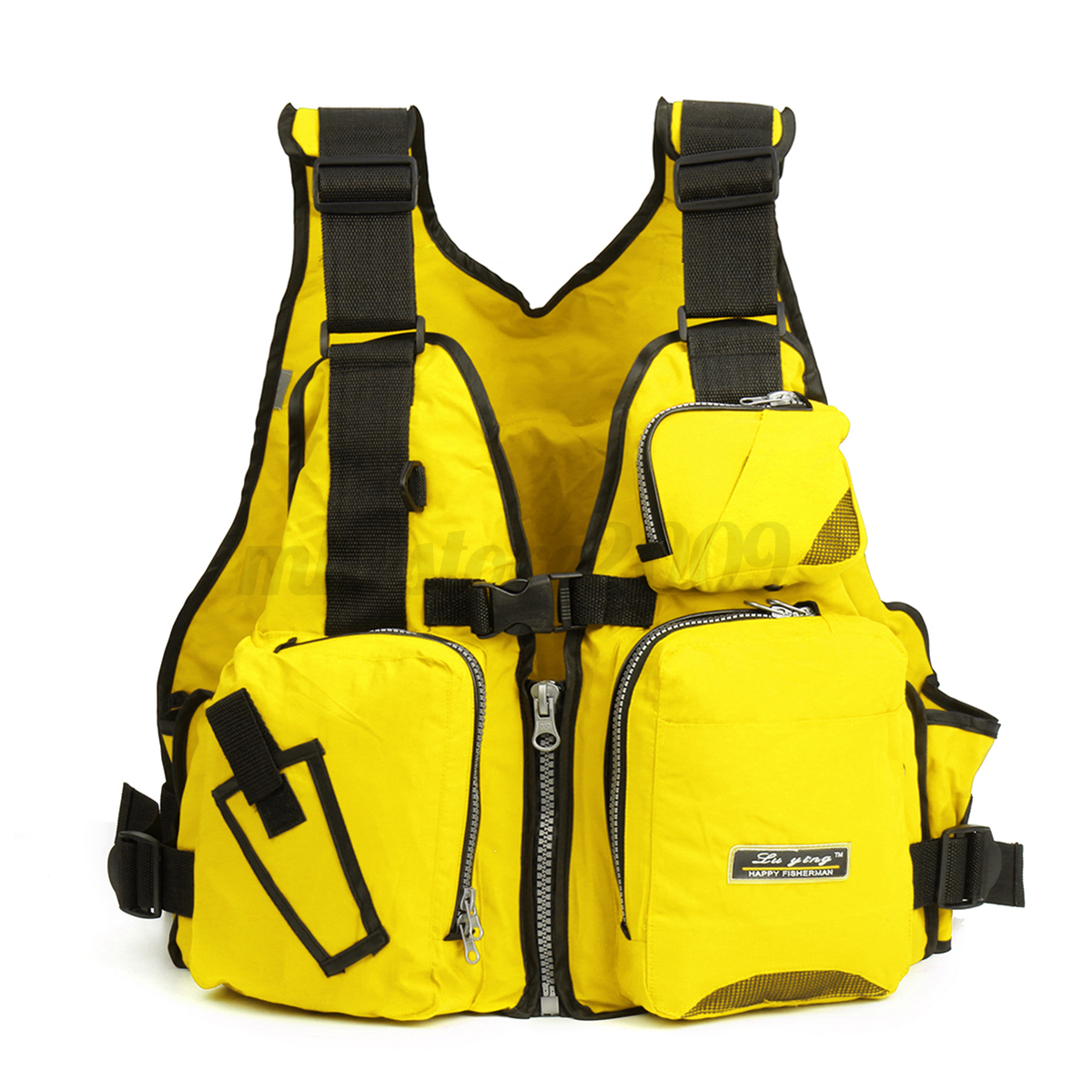 Adult adjustable buoyancy aid sail kayak canoeing fishing for Kayak fishing vest