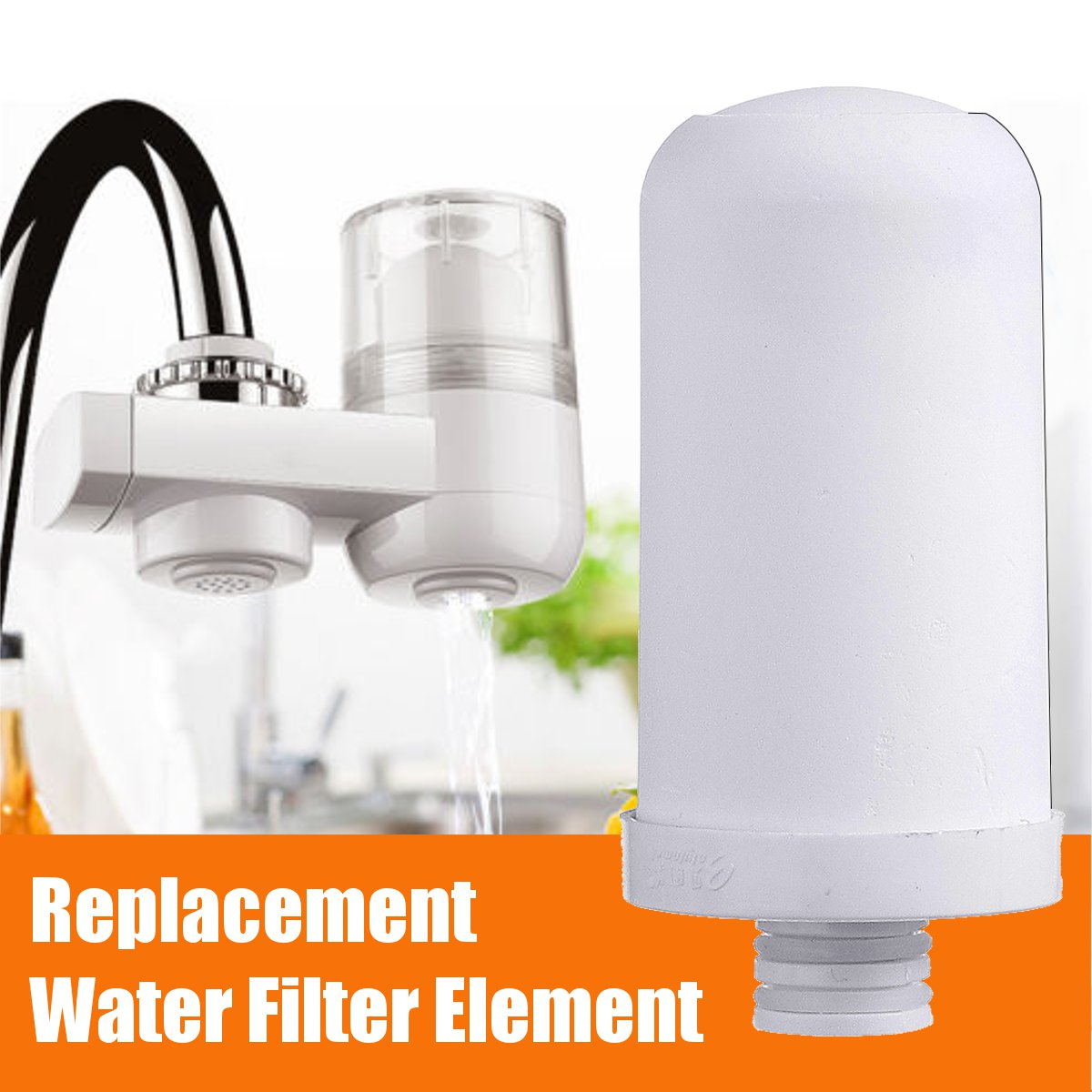 Details about Water Filter Tap Kitchen Faucet Adapter Sink Mount Purifier  Replacement Kits !