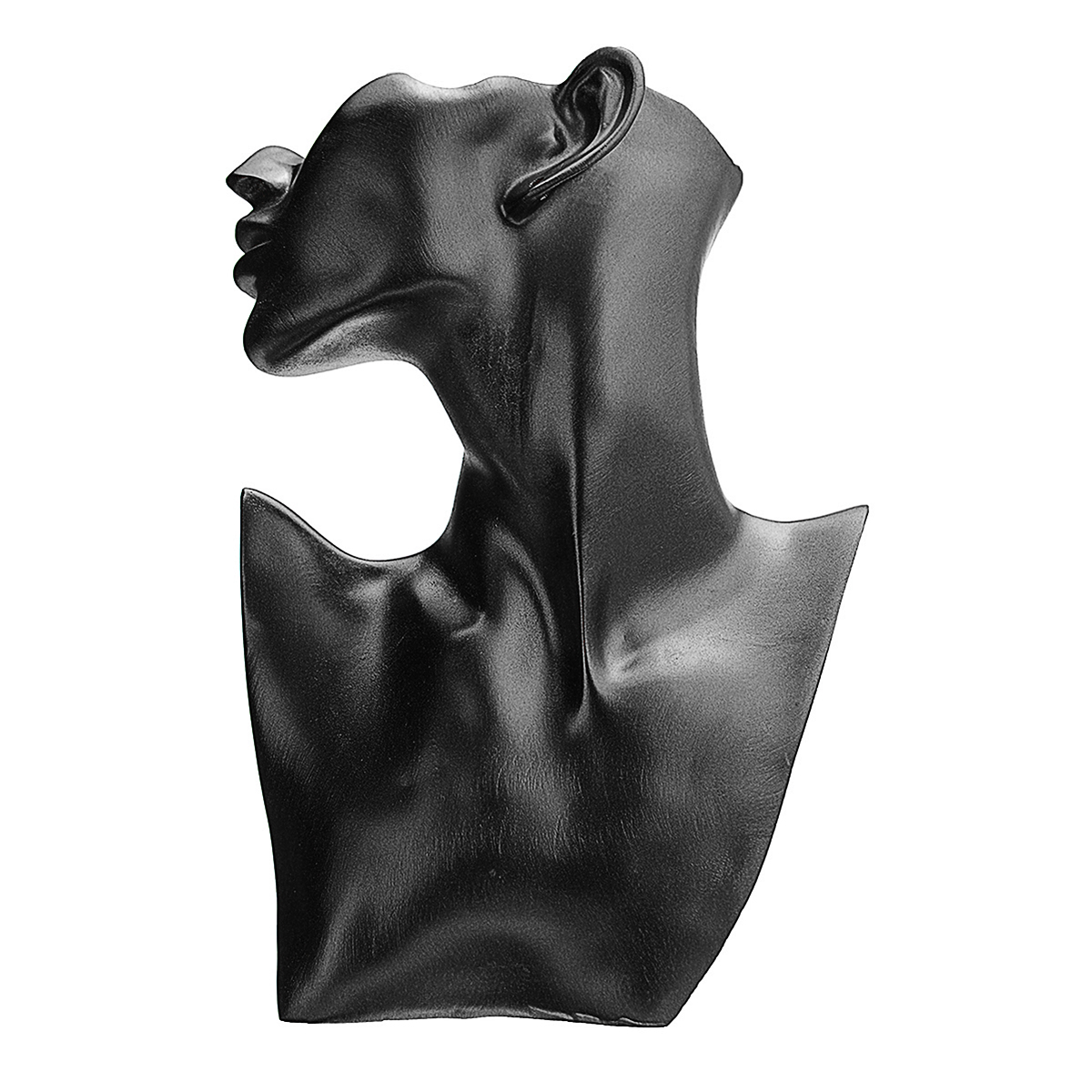 Resin-Mannequin-Necklace-Earring-Jewelry-Display-Head-Bust-Stand-Holder thumbnail 5