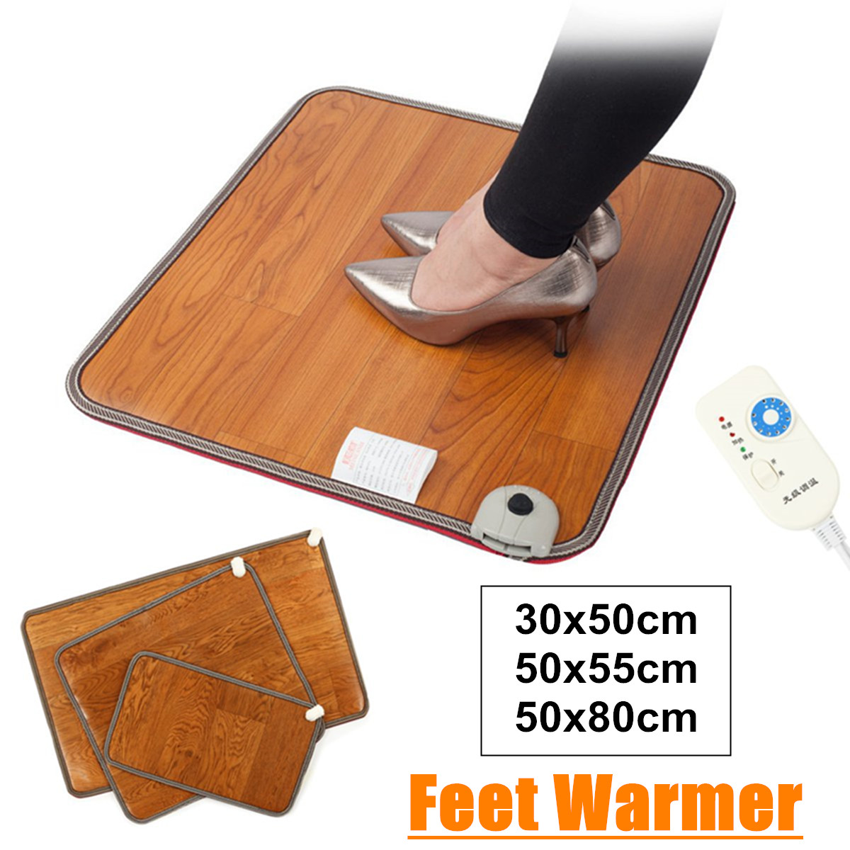 Feet Warmer Heated Floor Carpet Pad Mat