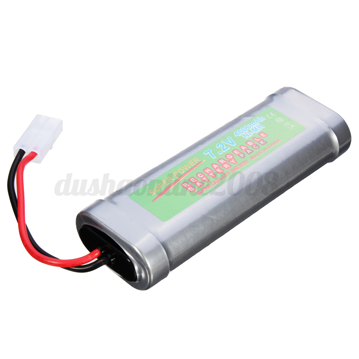 7-2V-Ni-MH-Batterie-Rechargeable-Pack-Pr-RC-Jouet-4300-4600-5000-5300-6800mAH