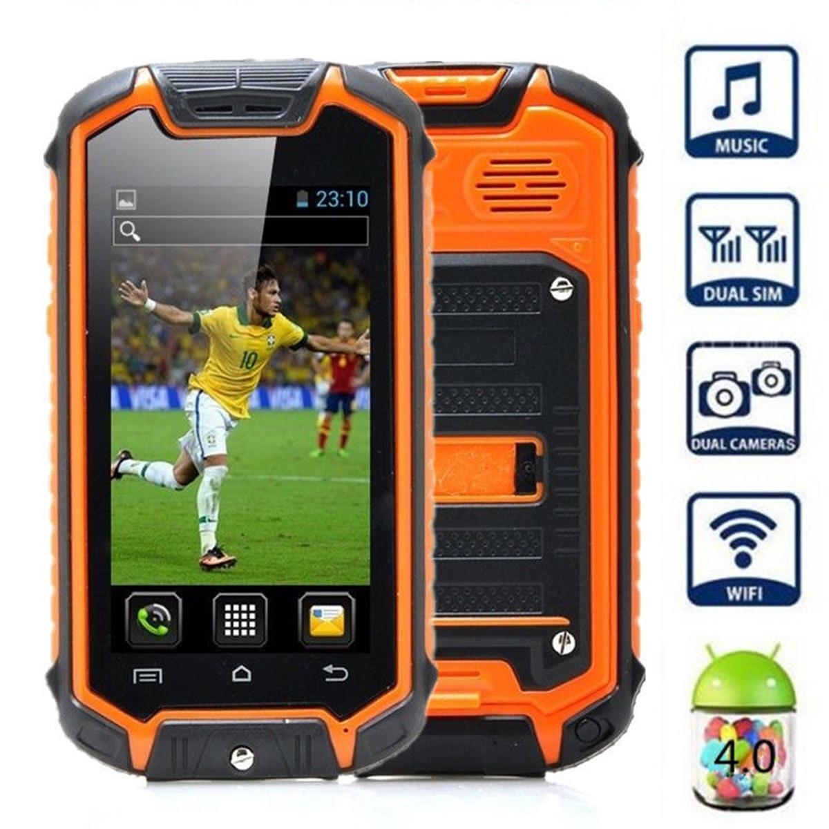 sale retailer 7035b a5944 World's Smallest Waterproof Android 4.0 Smart Mini Z18 Mobile Phone Dual  SIM 2G | eBay