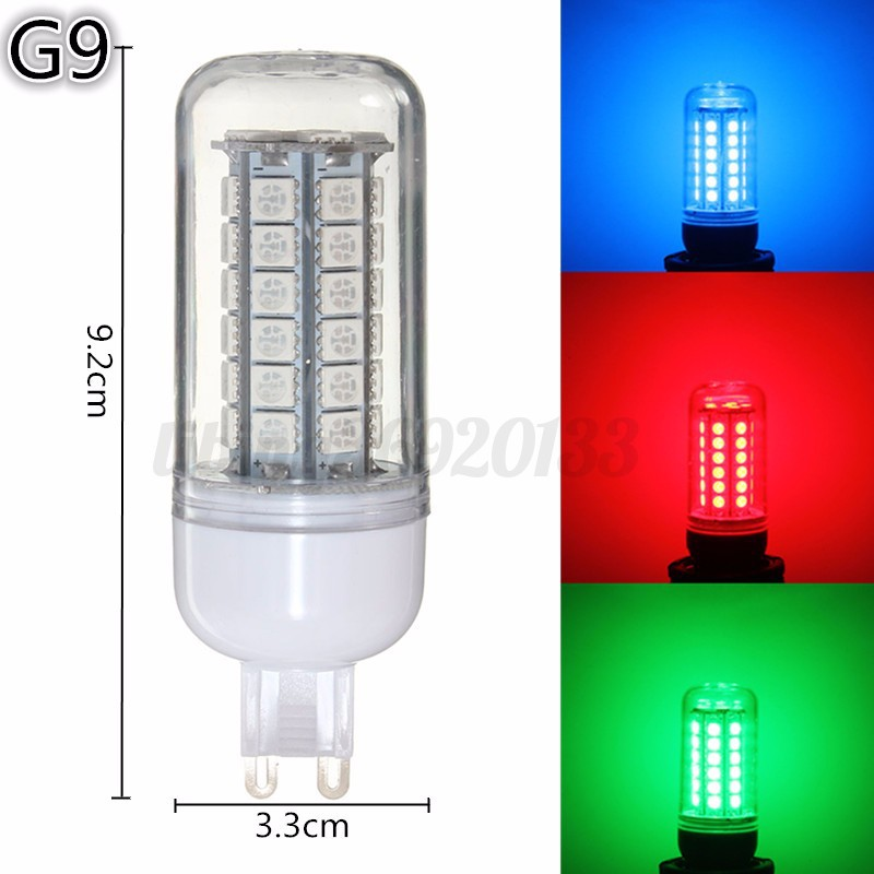 3 5w e27 e14 g9 b22 5050 smd 48 led ampoule lampe 300lm rgb ma s bulb 220v neuf ebay. Black Bedroom Furniture Sets. Home Design Ideas