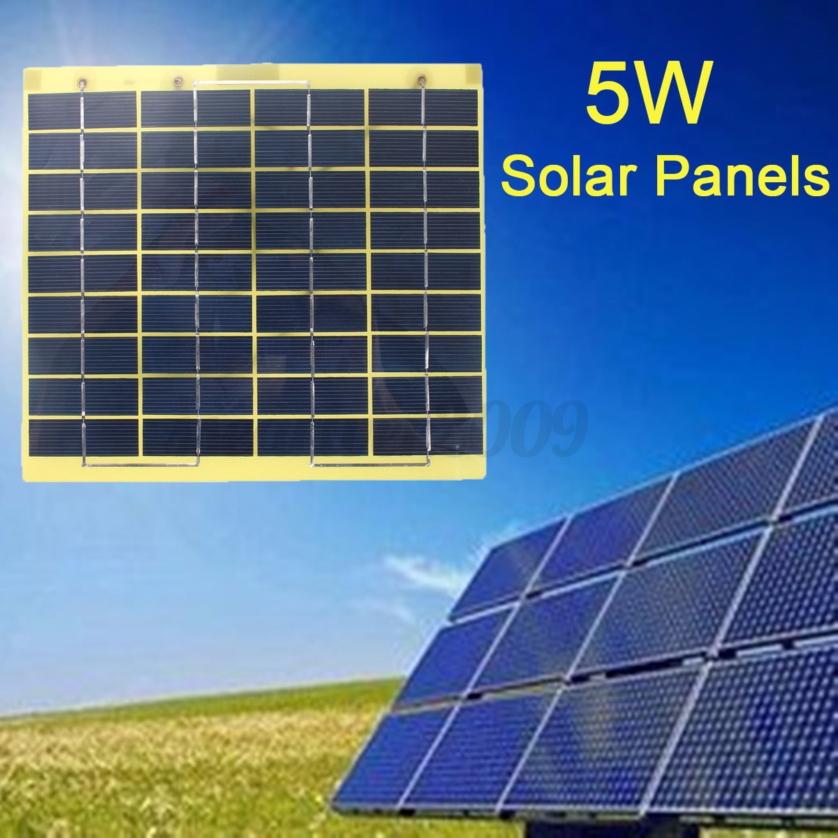 5w 10w 20w 30w solar panel cable clips rv boat battery for Solar panels for 2500 sq ft home