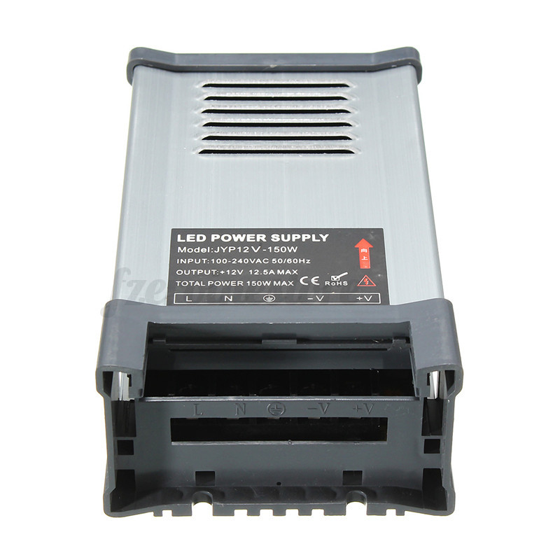 Waterproof DC 5V 12V 24V LED Switching Power Supply Driver ...