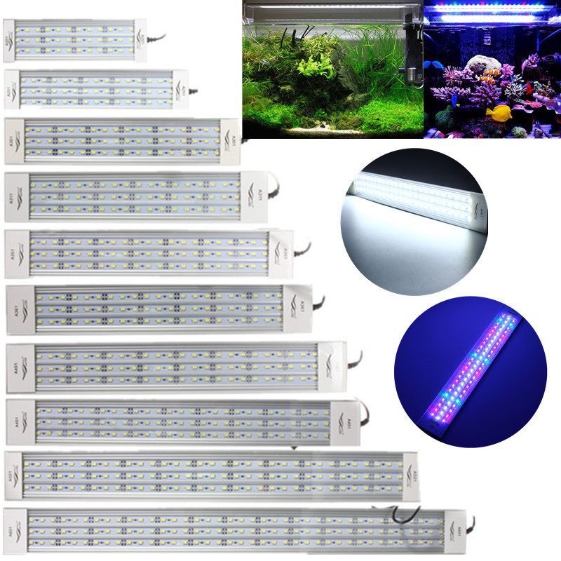 5730 led aquarium beleuchtung aufsatzleuchte 12 15 18 21 24 27 33 39w 20 80cm ebay. Black Bedroom Furniture Sets. Home Design Ideas
