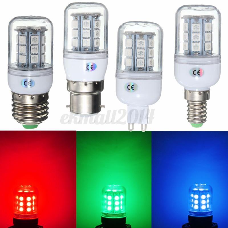 e27 e14 g9 b22 led light corn bulb lamp 5050 27 smd 220. Black Bedroom Furniture Sets. Home Design Ideas