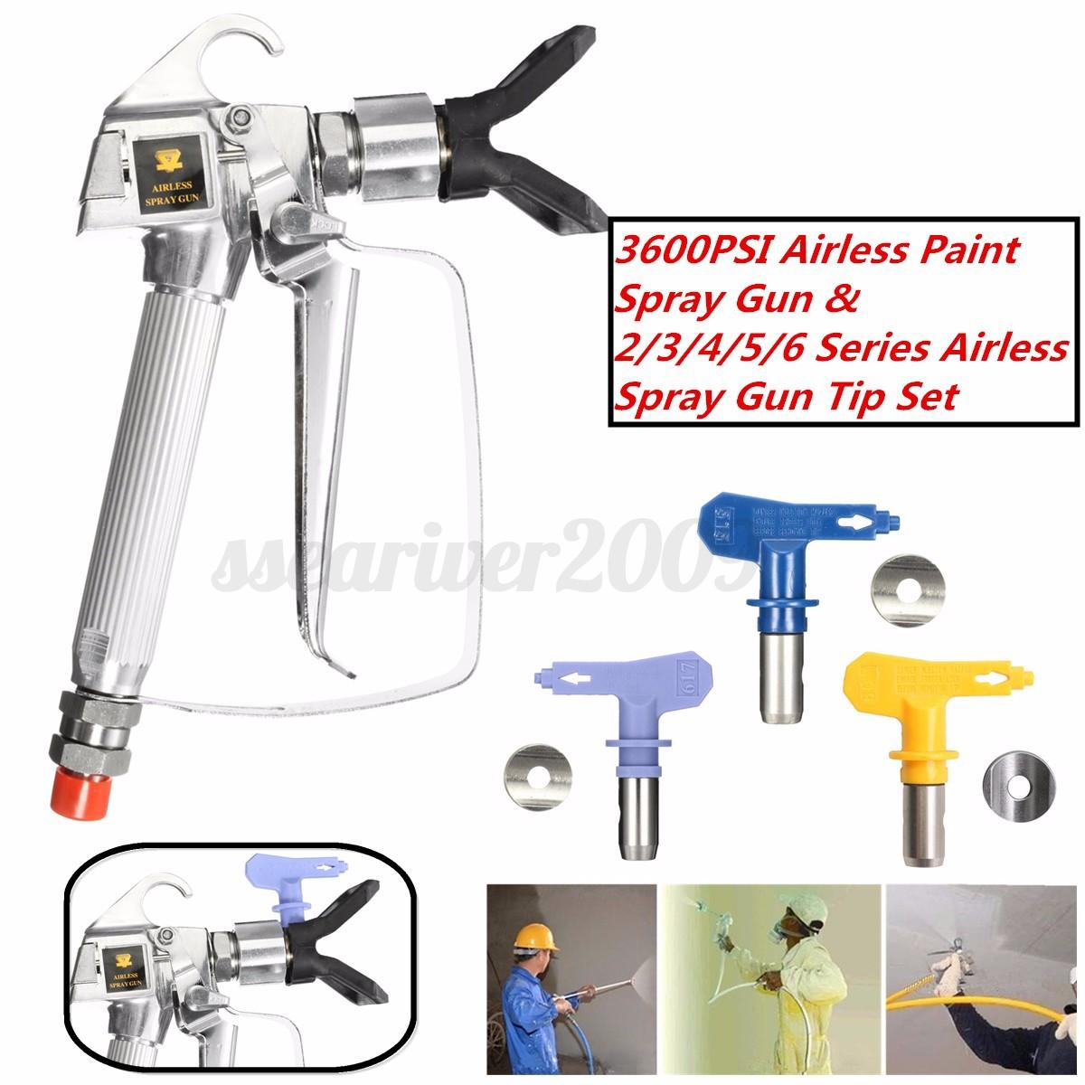 Exterior Paint Sprayer Ireland: PAINT Sprayer Gun / Spray Tip / Guard Airless For TItan