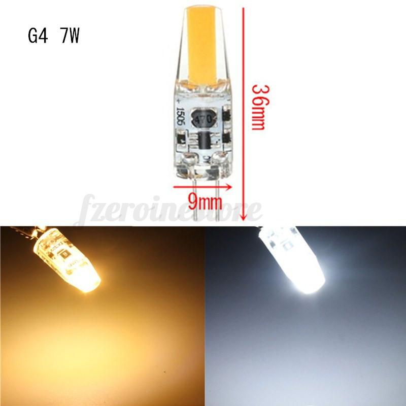 G4-G9-3W-6W-9W-Dimmable-LED-COB-Bombilla-Silica-Gel-Light-Maiz-Luz-AC-DC12V-220V