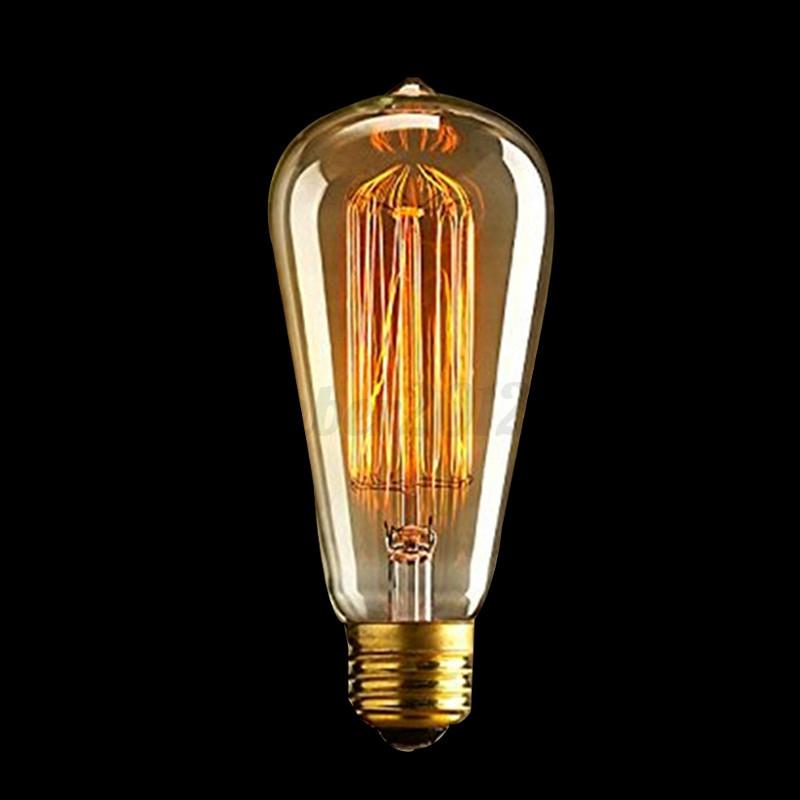 E27-E14-B22-40W-60W-Bombilla-Vintage-Industrial-Edison-Luz-Filamento-Light-Bulbs