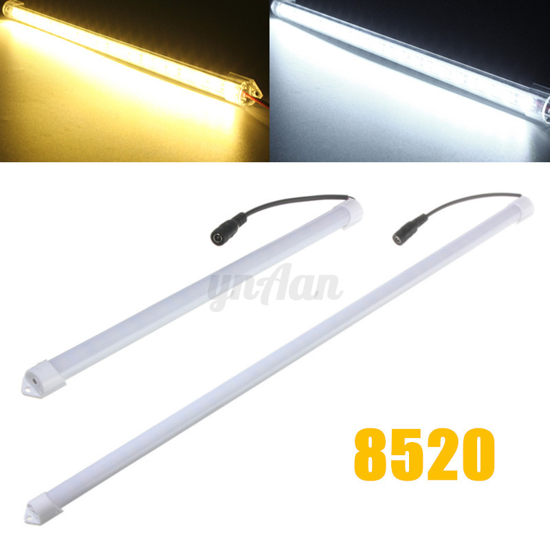 30cm 50cm 5050 5630 7020 8520 led unterbau leuchte strip beleuchtung lichtleiste ebay. Black Bedroom Furniture Sets. Home Design Ideas