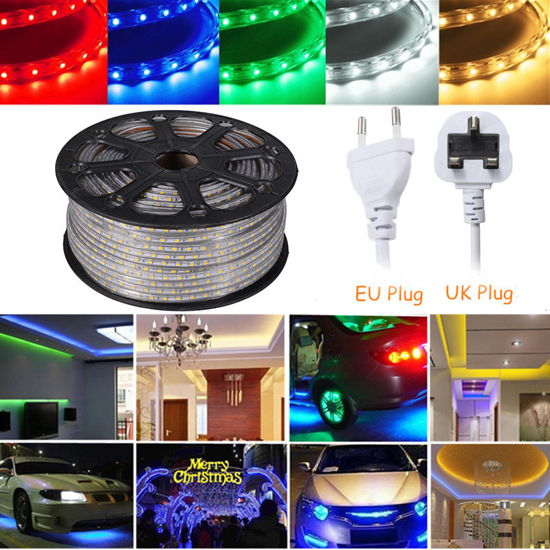 10m 100 led flexible wasserdicht lichterkette innen au en micro kupfer draht neu ebay. Black Bedroom Furniture Sets. Home Design Ideas