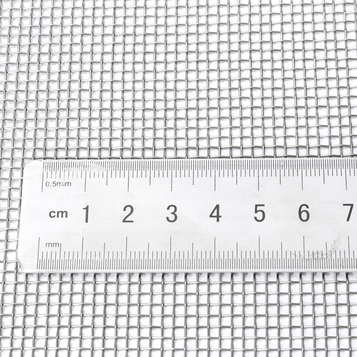 30 Mesh Edelstahlsieb Edelstahlgewebe Siebfilter Drahtgewebe Gitter 30x30 cm DE