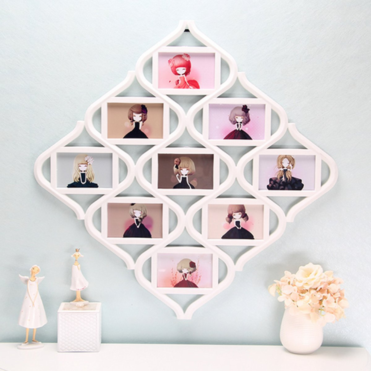 8 Types 6\'\' Collage Multi Photo Frames Picture Display Wall Hanging ...