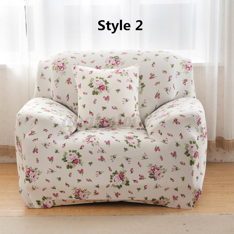 sofa cover sofabezug protector stretch husse abdeckung. Black Bedroom Furniture Sets. Home Design Ideas