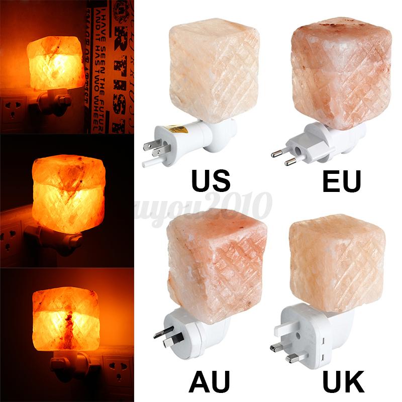Salt Crystal Lamp Himalayan Glow : 15W Himalayan Glow Hand Carved Natural Crystal Salt Wall Lamp Night Light Gifts eBay