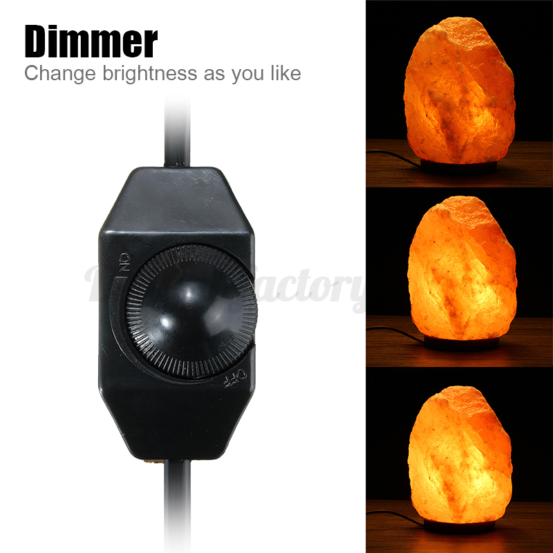 Salt Lamp Bulb Replacement : AU SWITCH CORD DIMMER ON/OFF BULB HIMALAYAN NIGHT LIGHT SALT LAMP REPLACEMENT