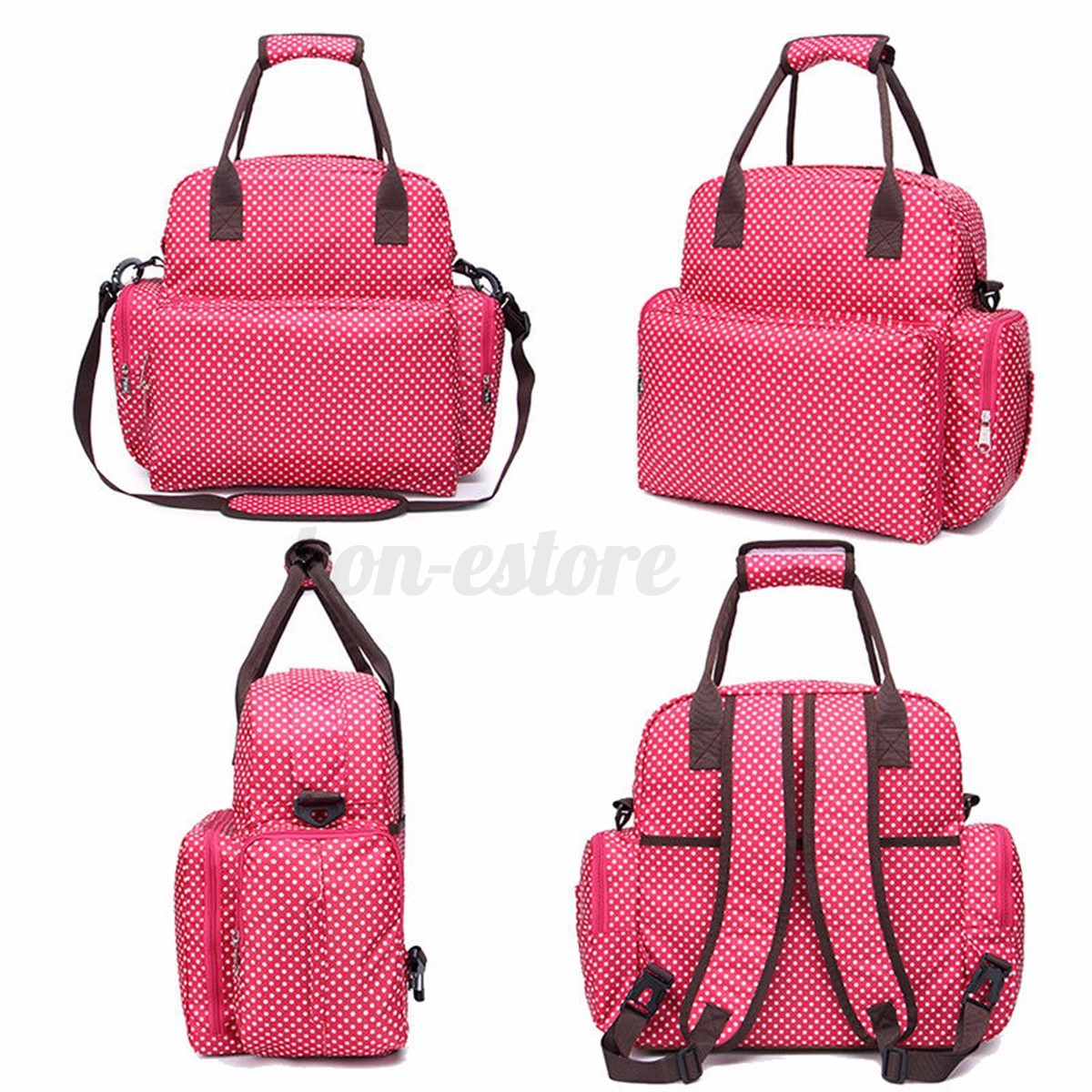 diaper backpack shoulder bag leather travel bags. Black Bedroom Furniture Sets. Home Design Ideas