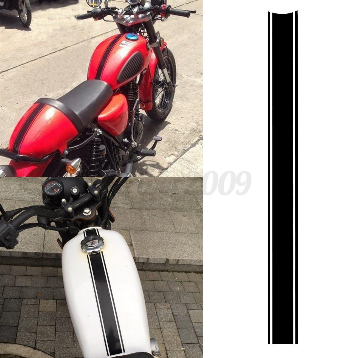 X Cm Motorcycle Tank Cowl Vinyl Stripe Pinstripe Decal - Vinyl stripes for motorcycles
