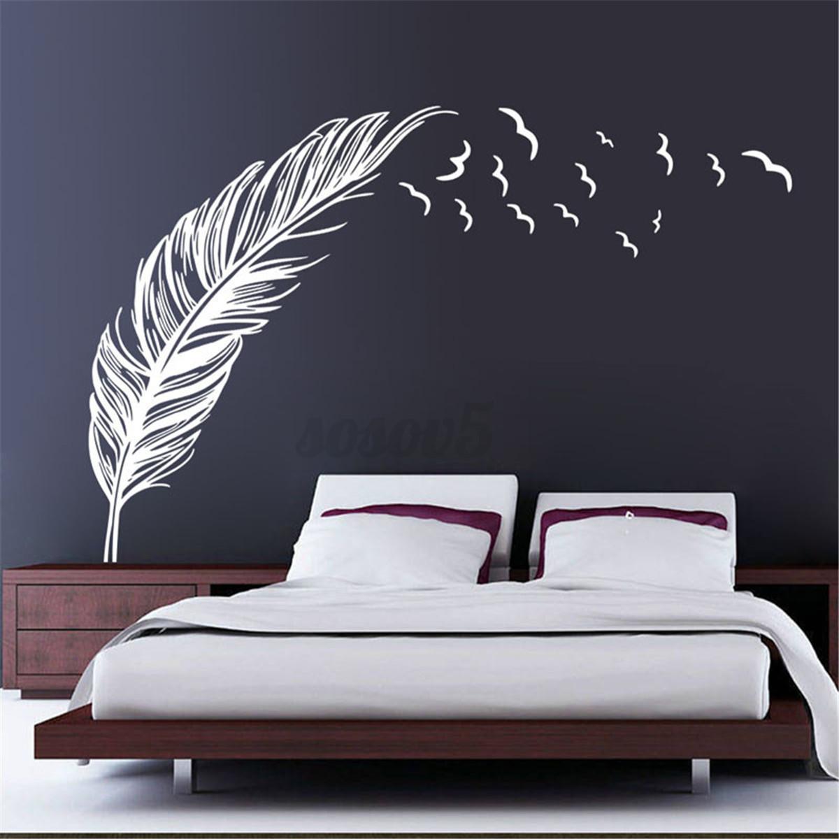 Pegatina-de-Pared-Vinilo-Mural-Decal-Decoracion-Hogar-Adhesivo-Removible-Decal
