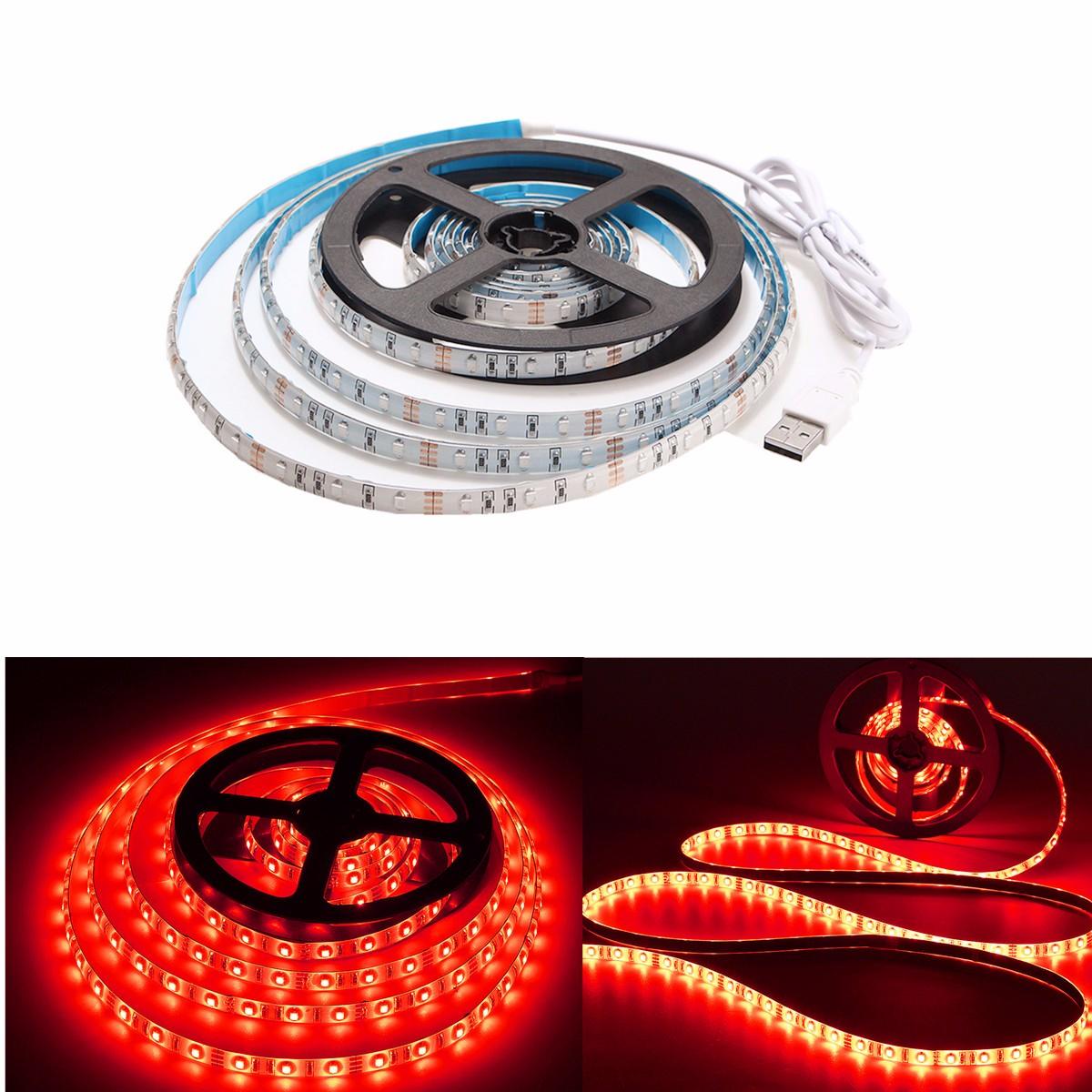 300CM-USB-LED-3528-SMD-Bande-Strip-TV-PC-Guirlande-Lampe-Noel-Fete-Decor-Etanche