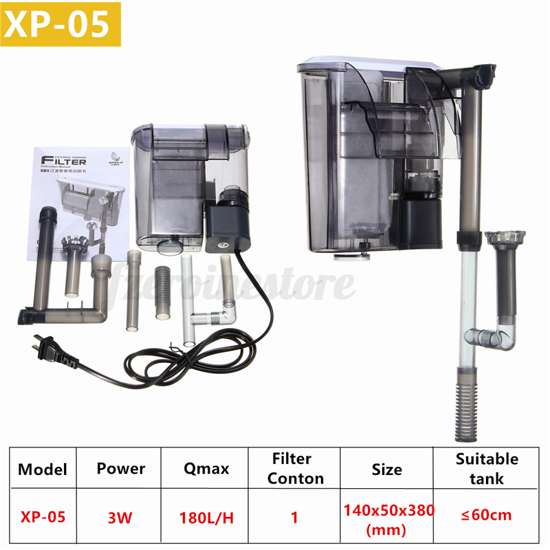 External-Hang-On-Filter-Surface-Skimmer-Waterfall-Nano-