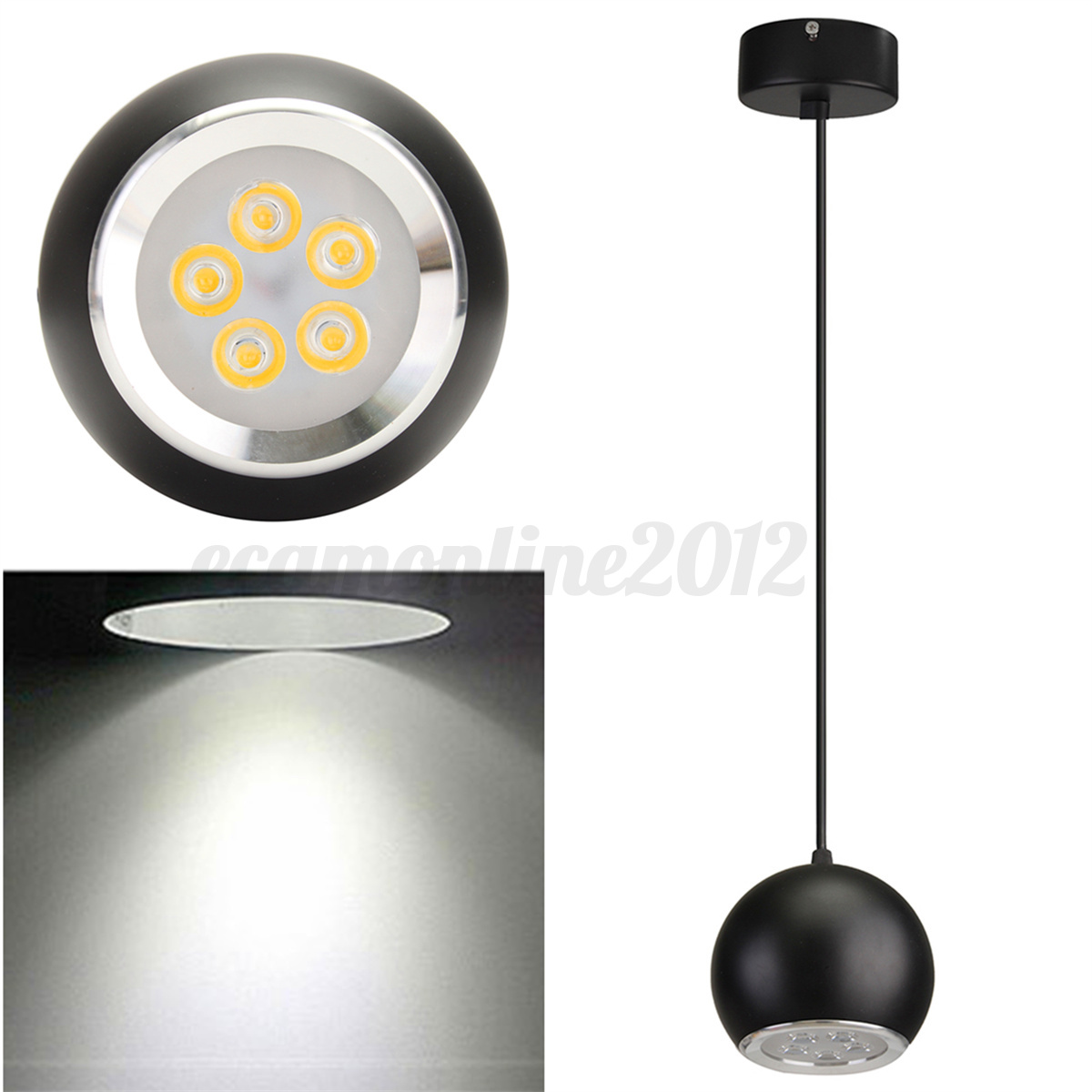 Modern Metal Dome Retro Style Ceiling Pendant Lamp Light