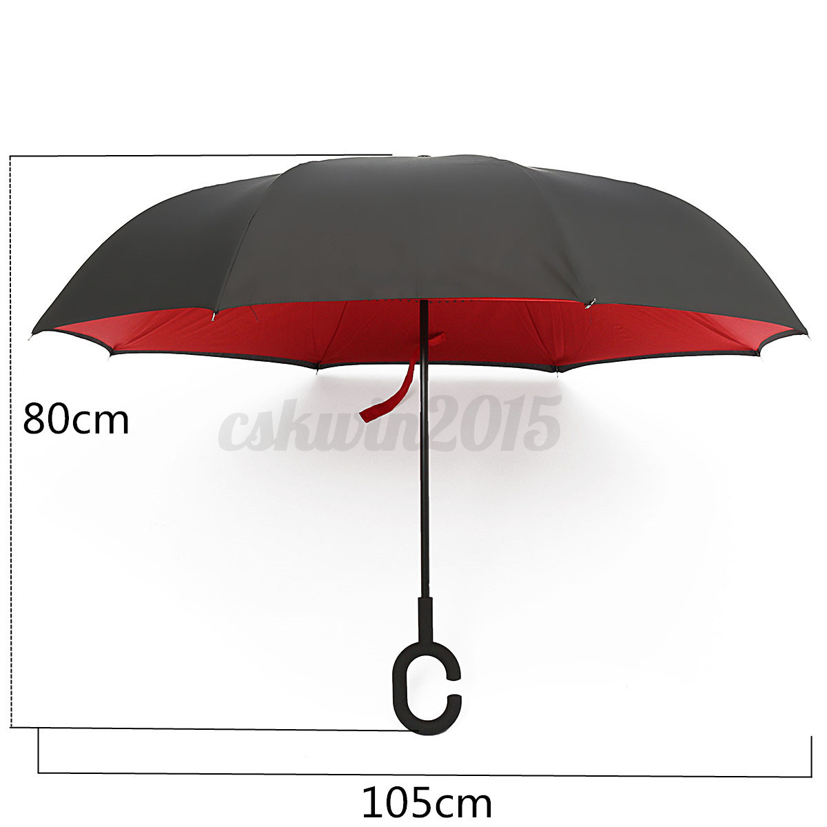 parapluie anti uv vent pluie soleil parasol invers double couche ouverture ebay. Black Bedroom Furniture Sets. Home Design Ideas