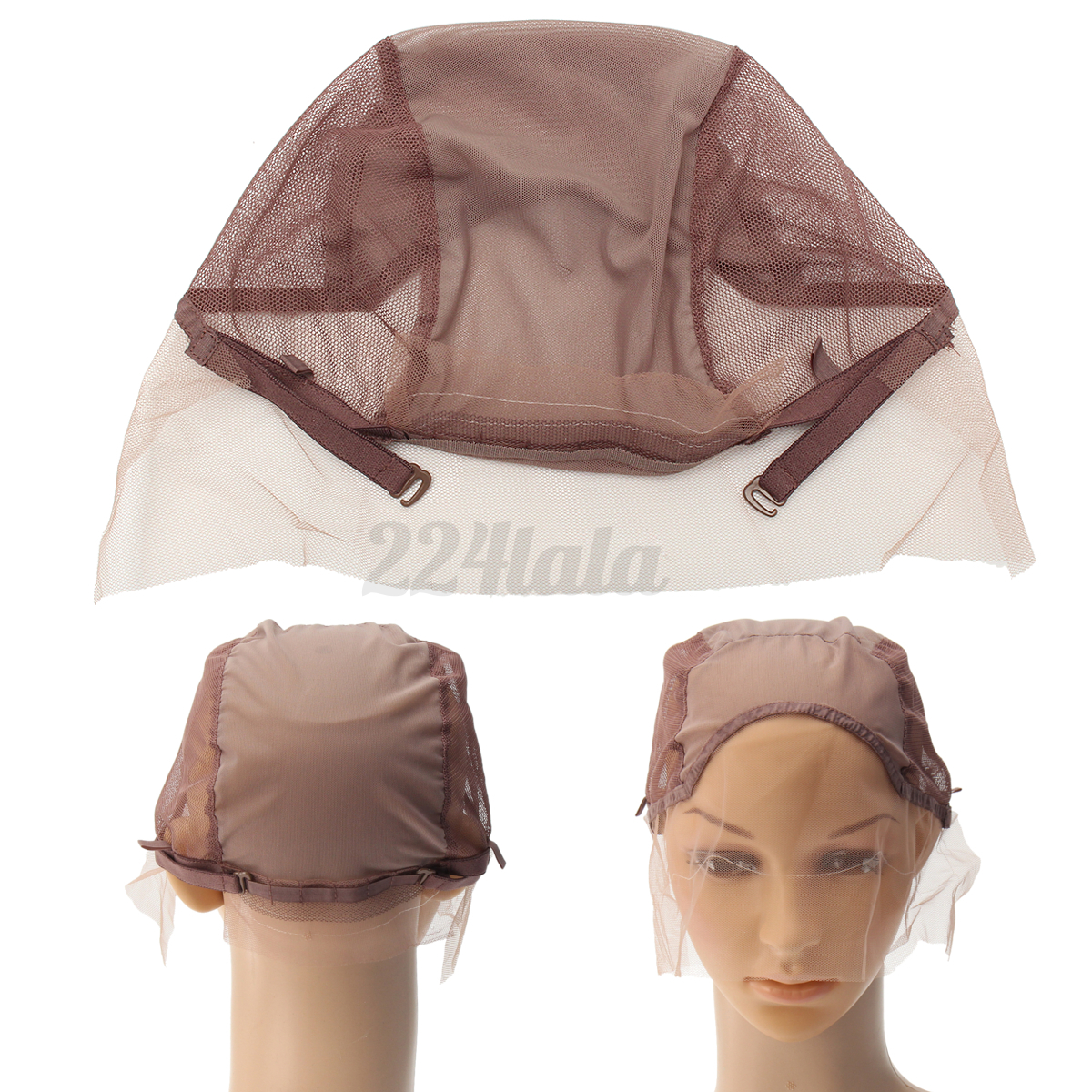 Lace Front Wig Cap For Wig Making Weave Cap Elastic Hair