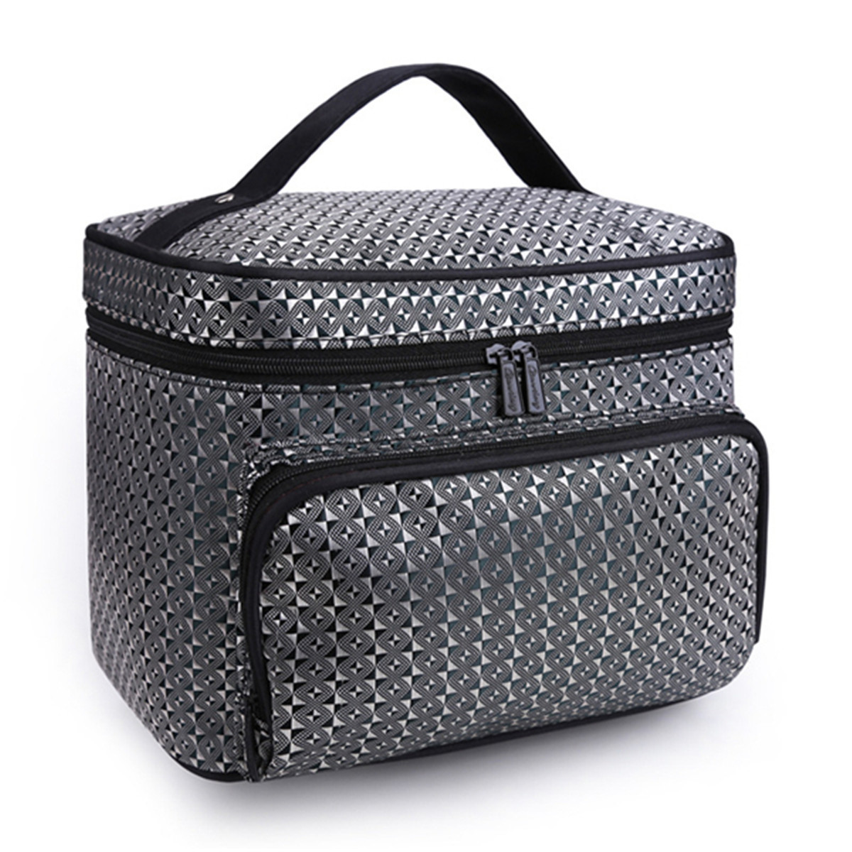 Portable Lighted Cosmetic Travel Case