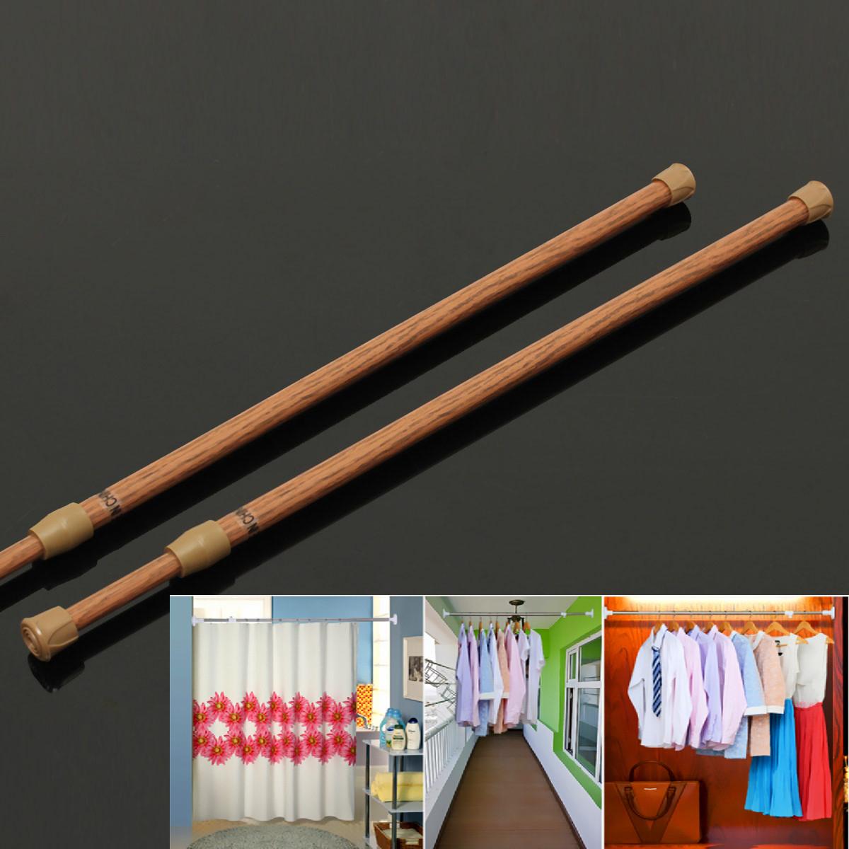 t lescopique extensible barre de tringle rideau armoire. Black Bedroom Furniture Sets. Home Design Ideas