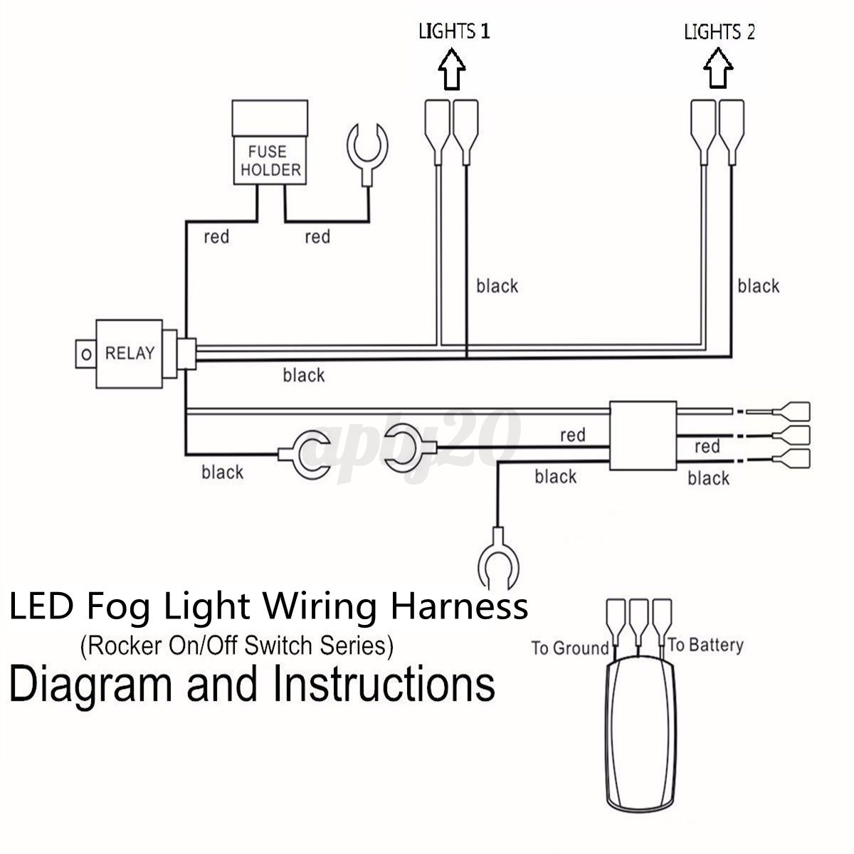 driving light wiring kit driving image wiring diagram universal wiring kit led fog light driving lamp wiring harness on driving light wiring kit