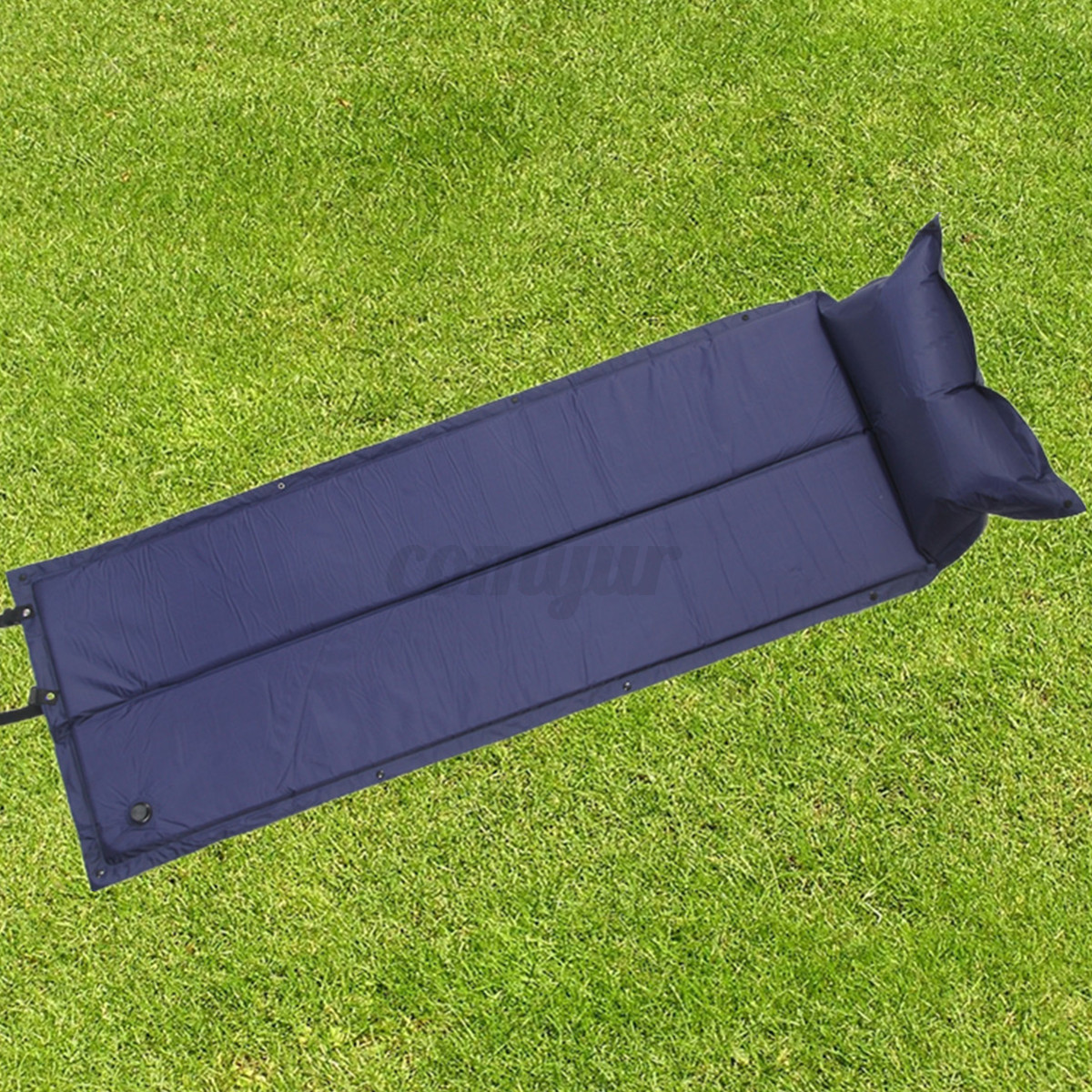 Camping inflatable bed - Single Self Inflating Camping Roll Mat Pad Inflatable