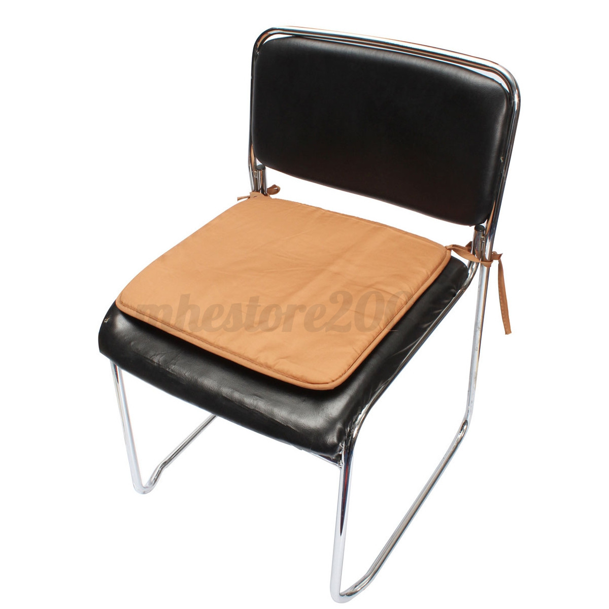 soft cushion office chair garden indoor dining seat pad tie on square foam patio ebay. Black Bedroom Furniture Sets. Home Design Ideas