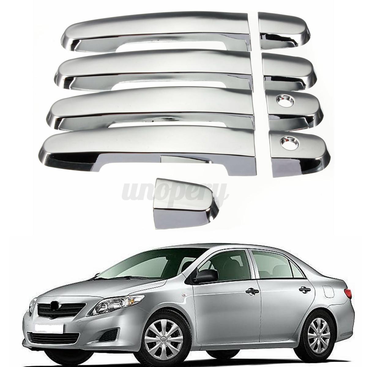 Chrome Door Handle Covers for Toyota RAV4 Prius Camry Corolla Scion xA tC xB xD