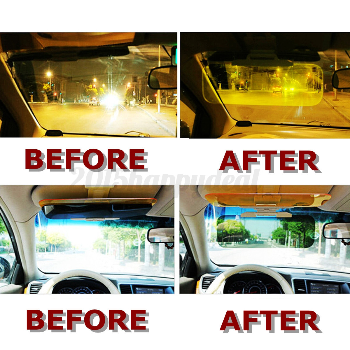 How To Use Hd Visor Anti Glare For Cars