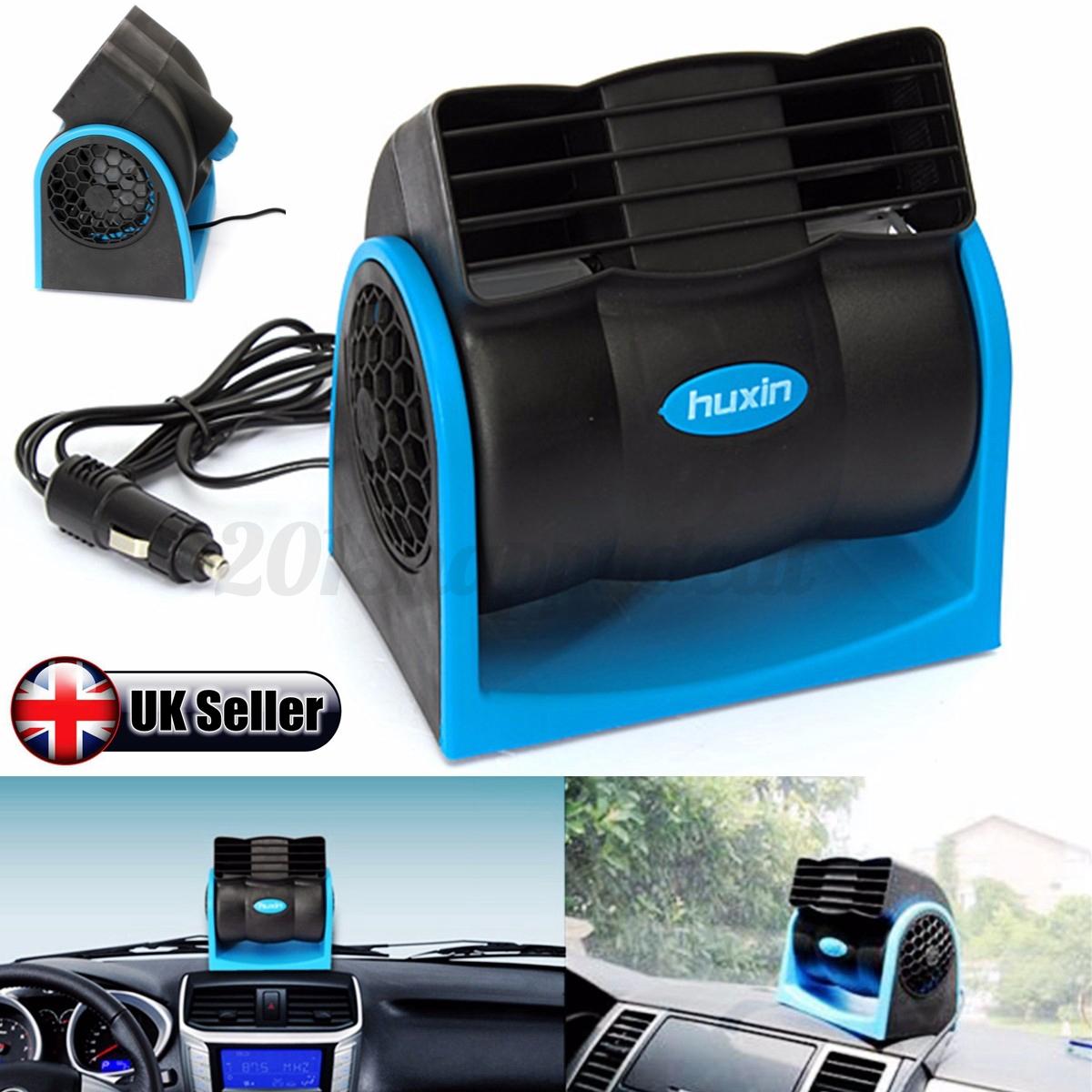 12v car auto vehicle adjustable air fan portable cooling cooler hi lo speed uk ebay. Black Bedroom Furniture Sets. Home Design Ideas
