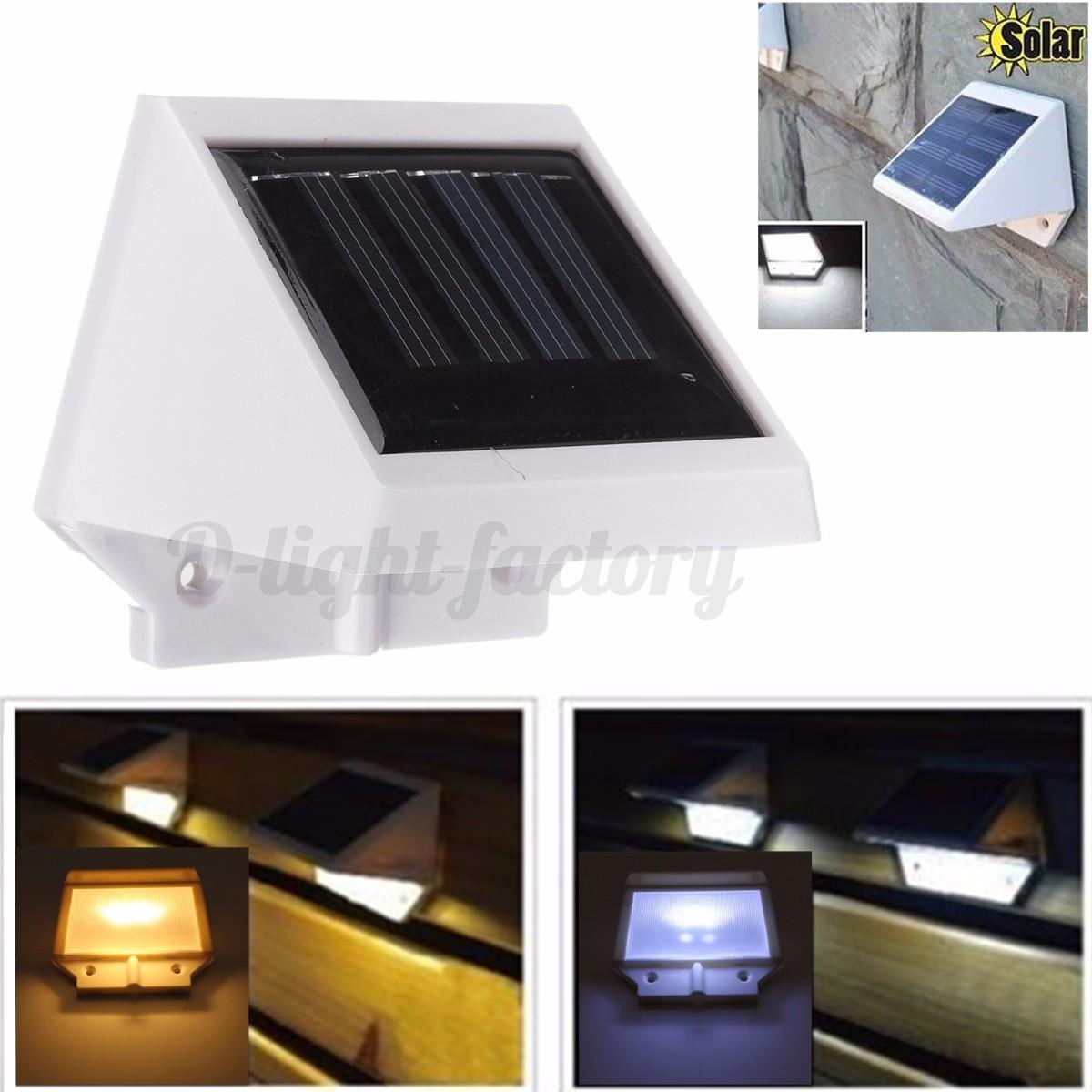 Etanche 2 20 led pir lampe solaire mur lumi re d tecteur mouvement ext rieur nf ebay - Lumiere solaire exterieur ...