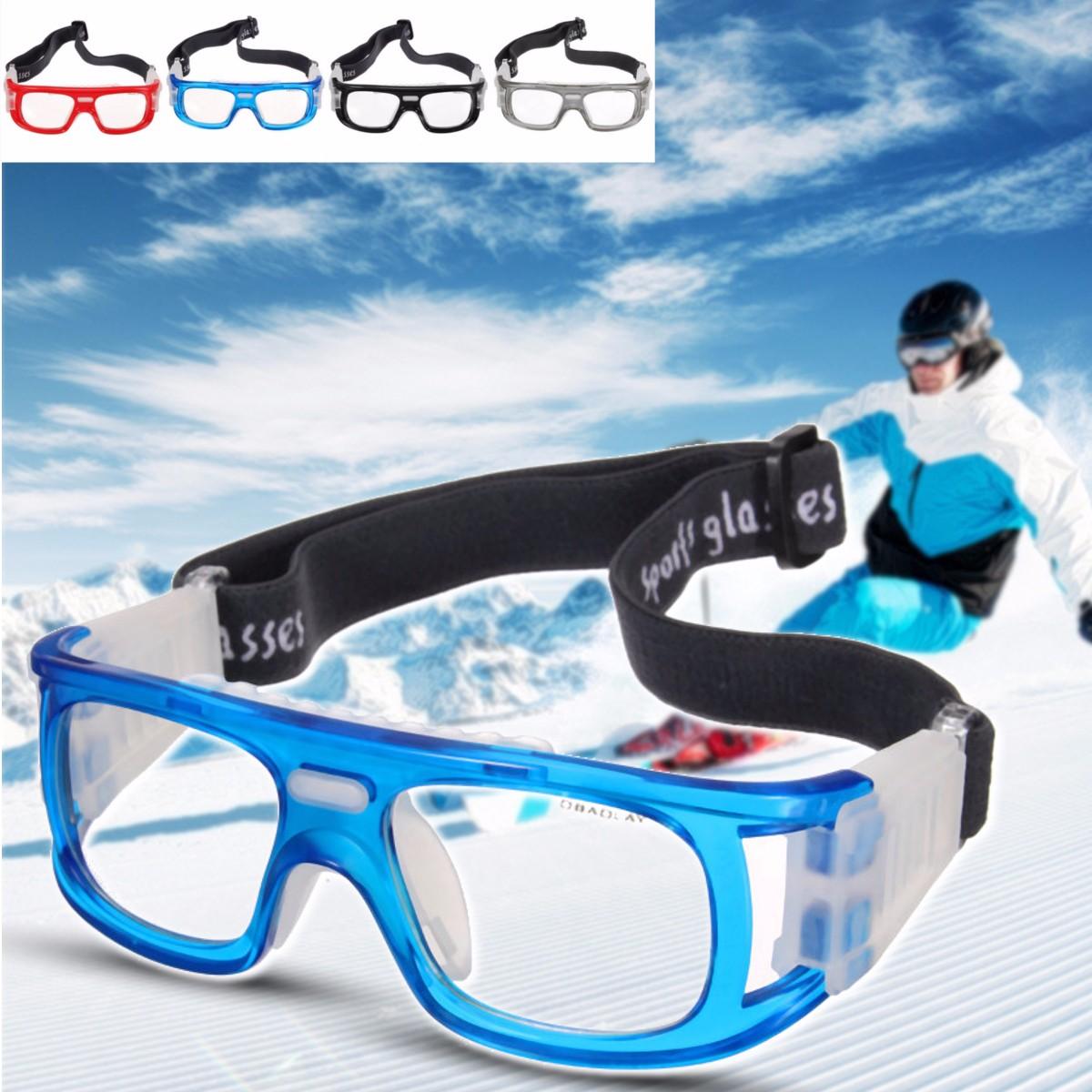 f0c40e4d78 La imagen se está cargando Gafas-Sol-Ojo-Proteccion-Elastico-Baloncesto- Futbol-Deportes-