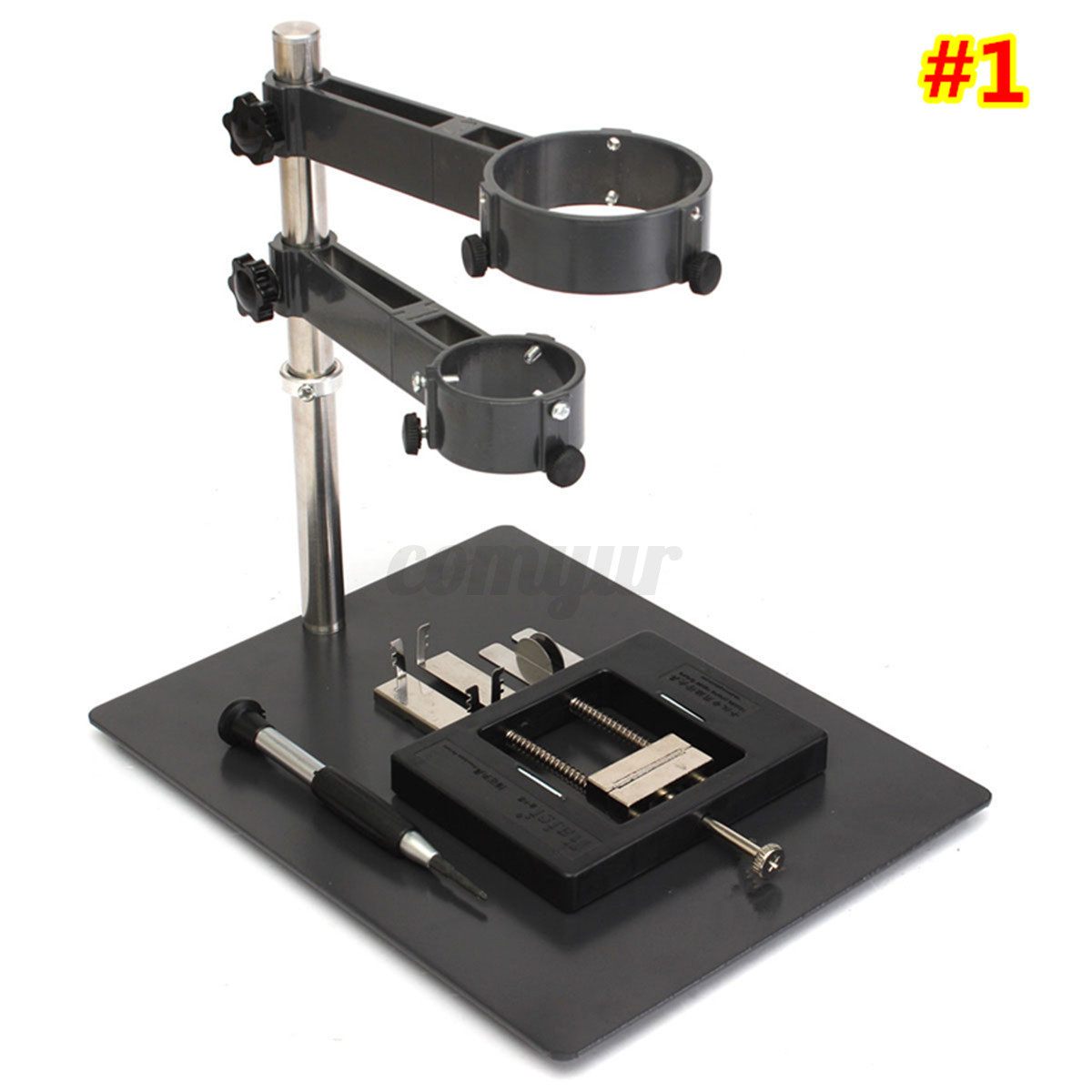 hot air heat gun clamp bracket holder soldering platform station repair tool ebay. Black Bedroom Furniture Sets. Home Design Ideas
