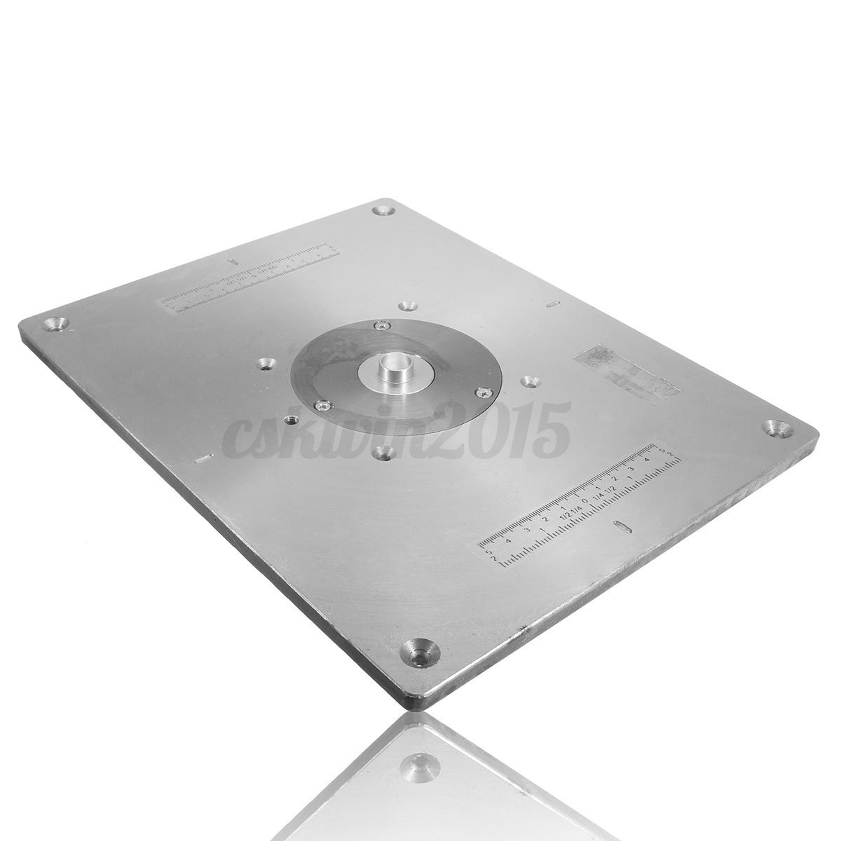 235x300x8mm aluminum router table insert plate for woodworking detail image greentooth Images