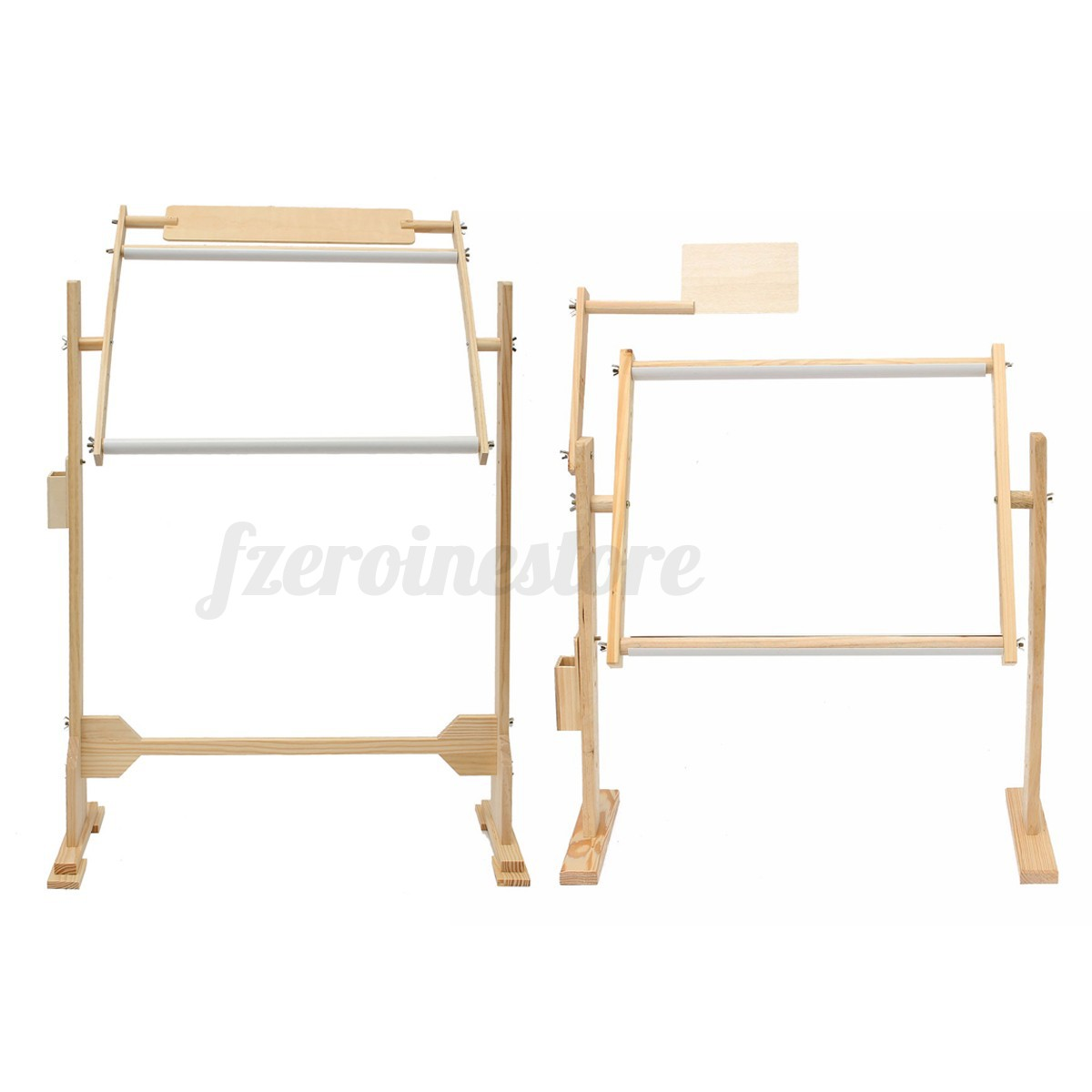 Cross stitch wooden sewing embroidery frames floor stand