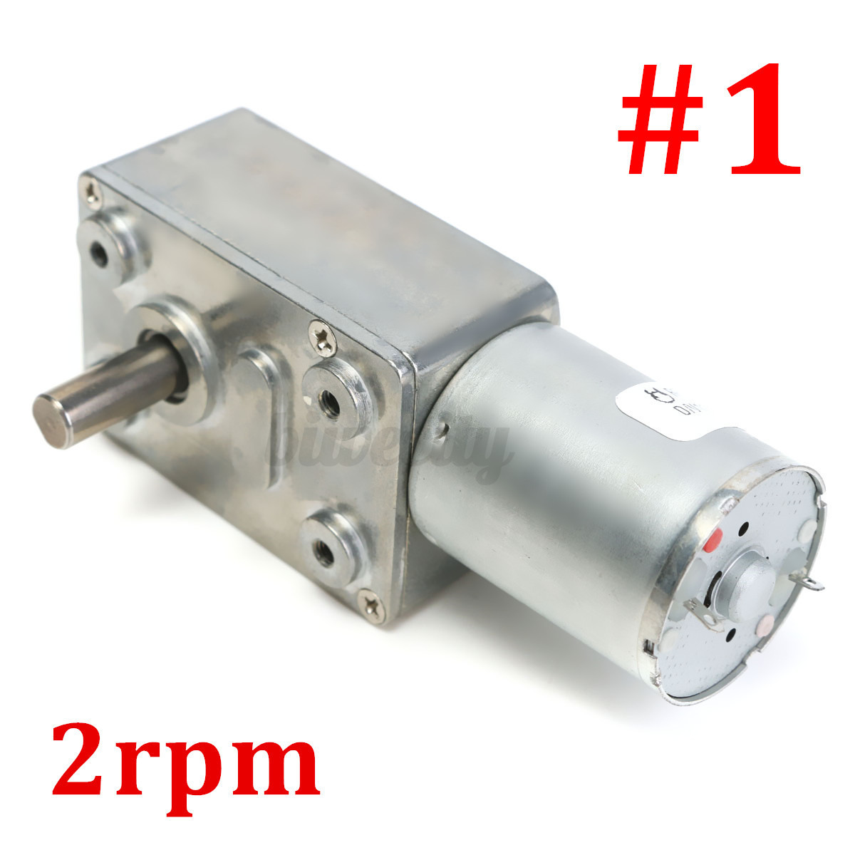 Reversible Multiple Geared Motor High Torque Turbo Worm Dc
