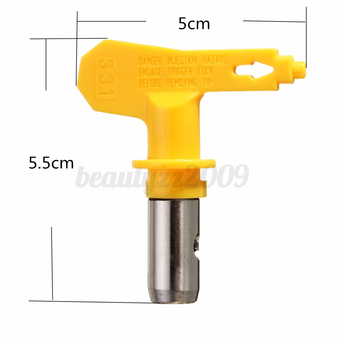 spray tip for graco titan wagner airless spray gun and paint sprayer. Black Bedroom Furniture Sets. Home Design Ideas