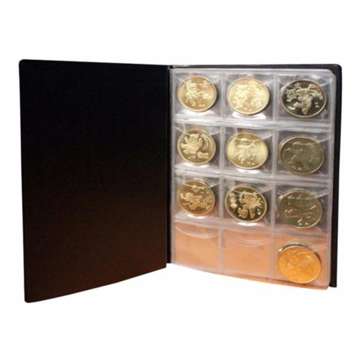 35a4c41cd0 Coin Album Binder for Case 120 seater Coin Money Collection Storage ...