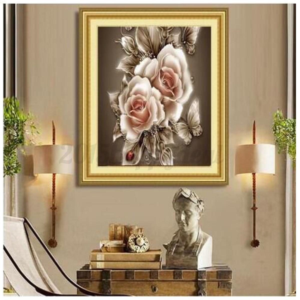 5d Diy Diamond Painting Animal Beauty Embroider Cross