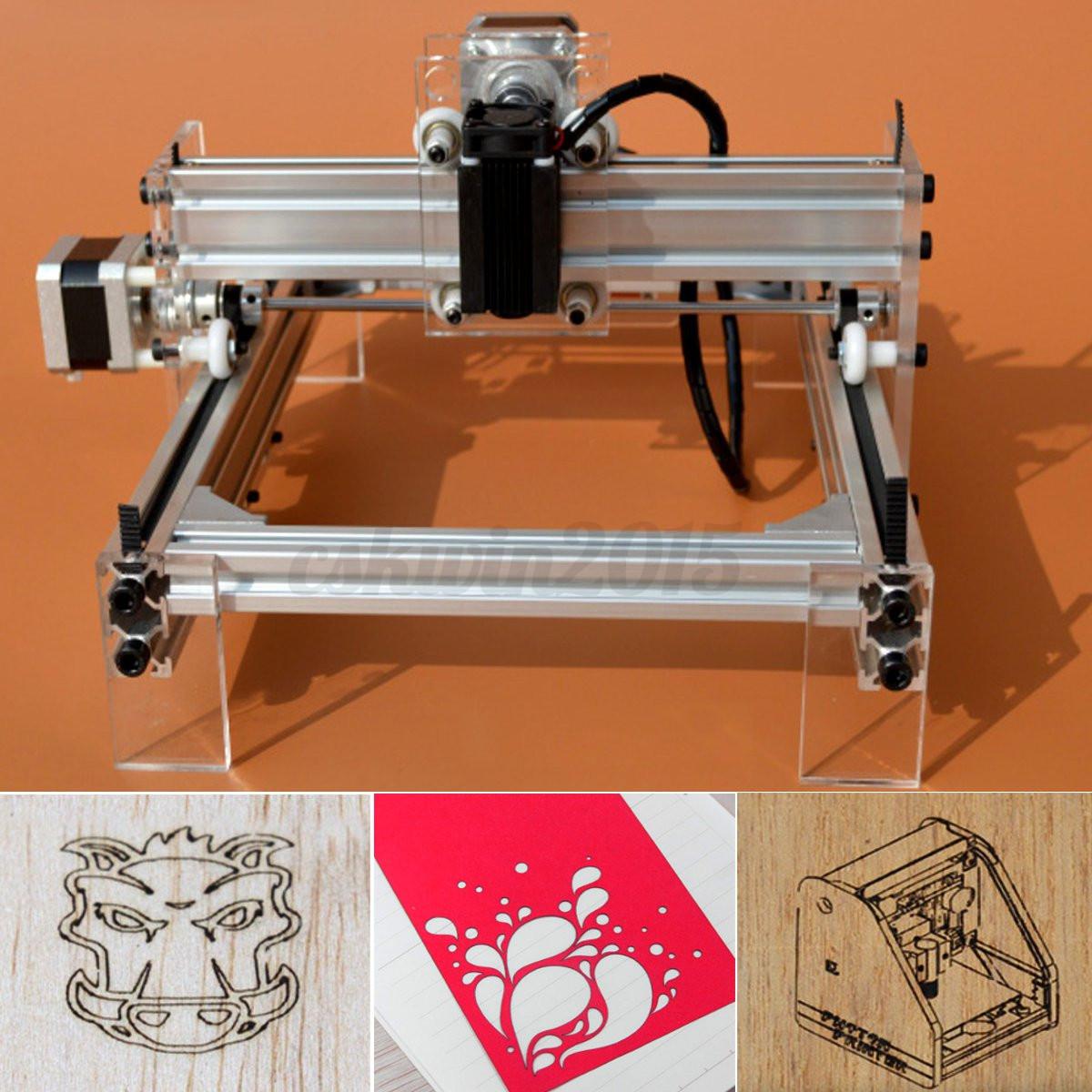 Diy Desktop Mini Laser Cutting Engraving Machine 500mw