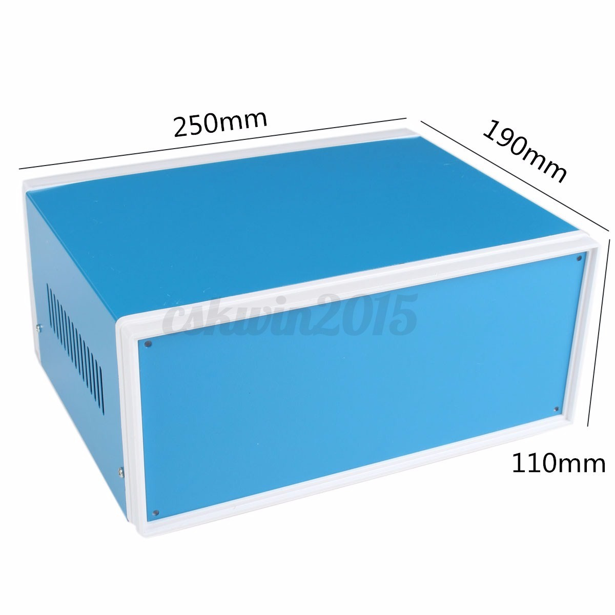 UK Metal Electronic Enclosures DIY Project Box Junction Case 250mmx190mmx110mm