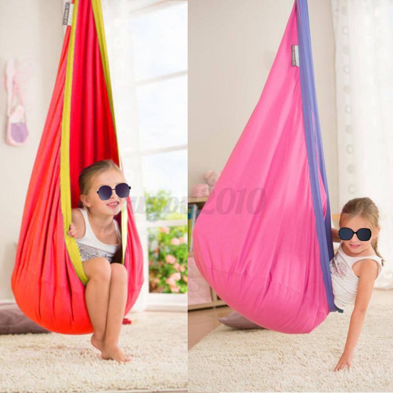 kinder pod swing stuhl lesung nook zelt indoor outdoor h ngesitz h ngematte kind ebay. Black Bedroom Furniture Sets. Home Design Ideas