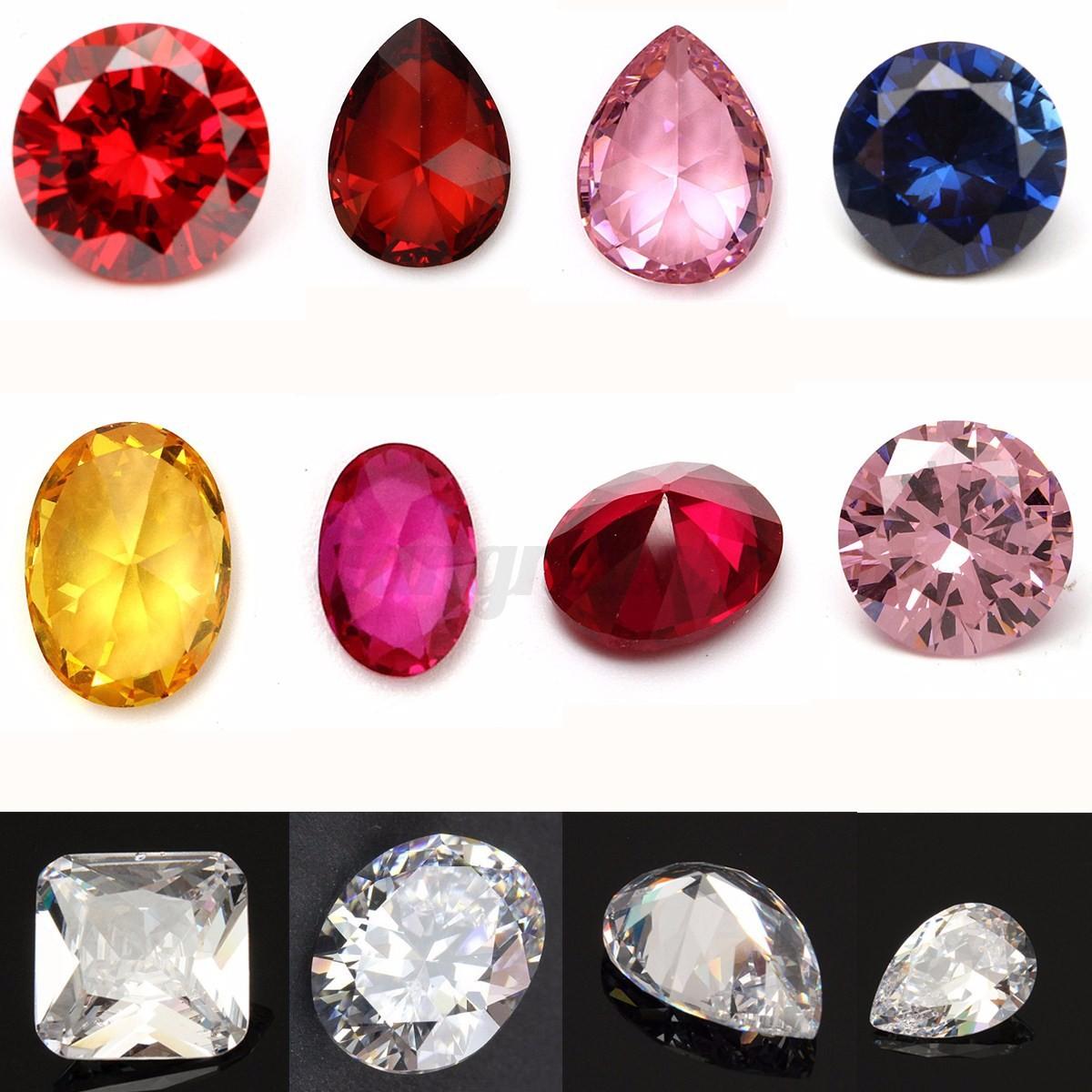 16 Styles Naturel saphir pierre Sapphire Loose Gemstone Perles Gemme Bijoux